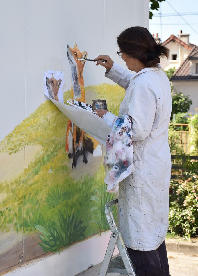 moi peint