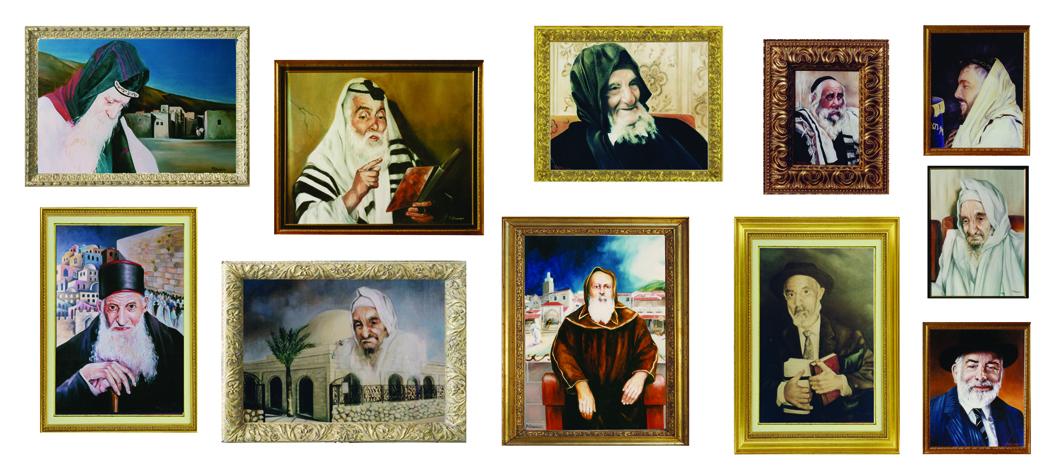 commande de portraits de Rabbins